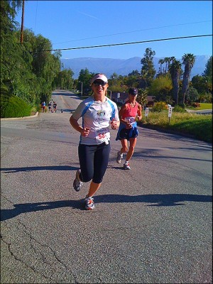 monica running redlands 300x400 About