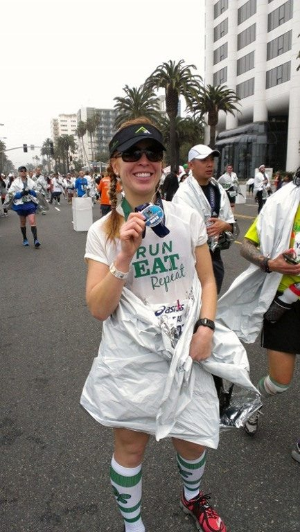 space blanket after marathon