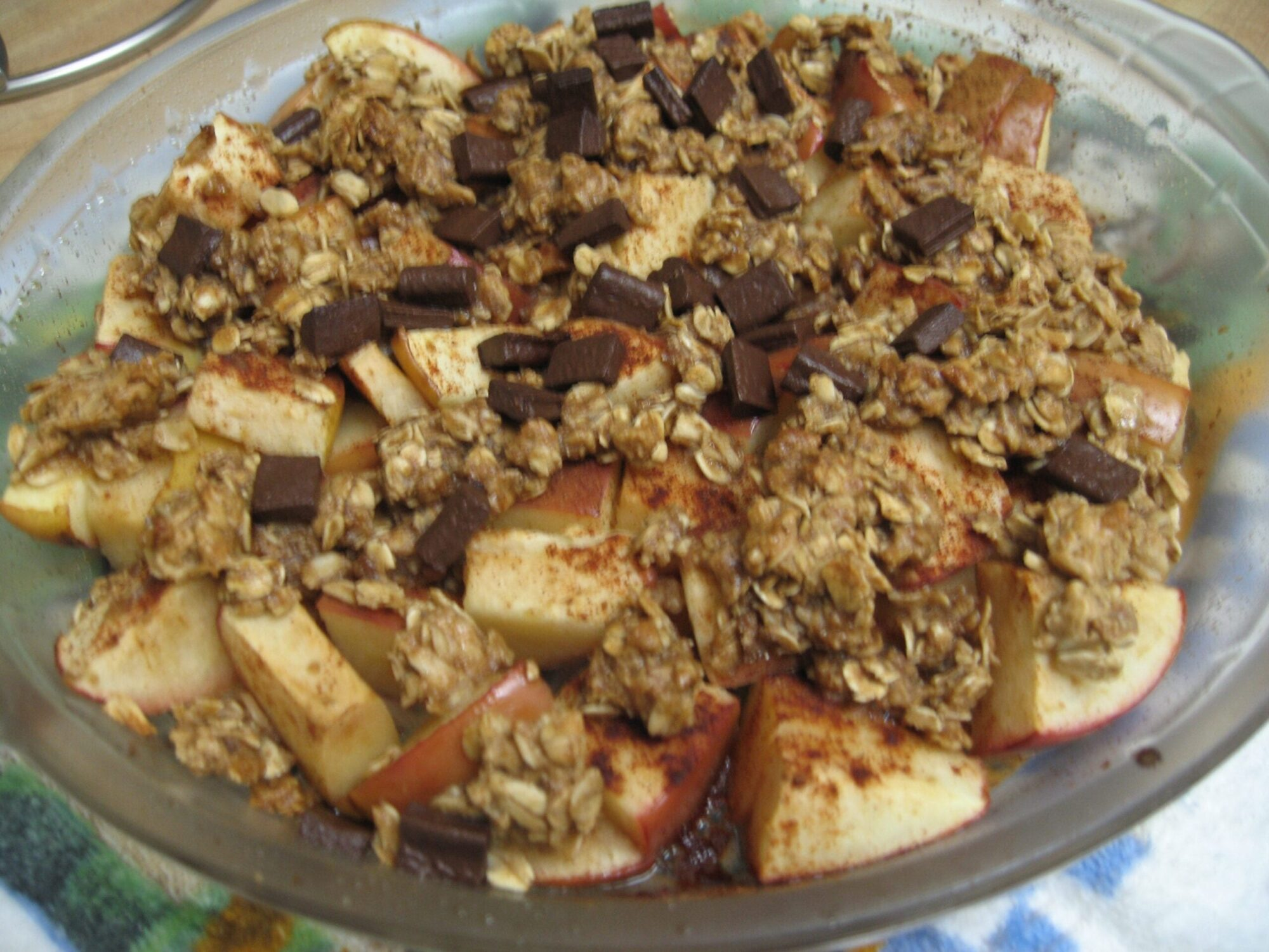 Warm Dessert - Apple Crisp