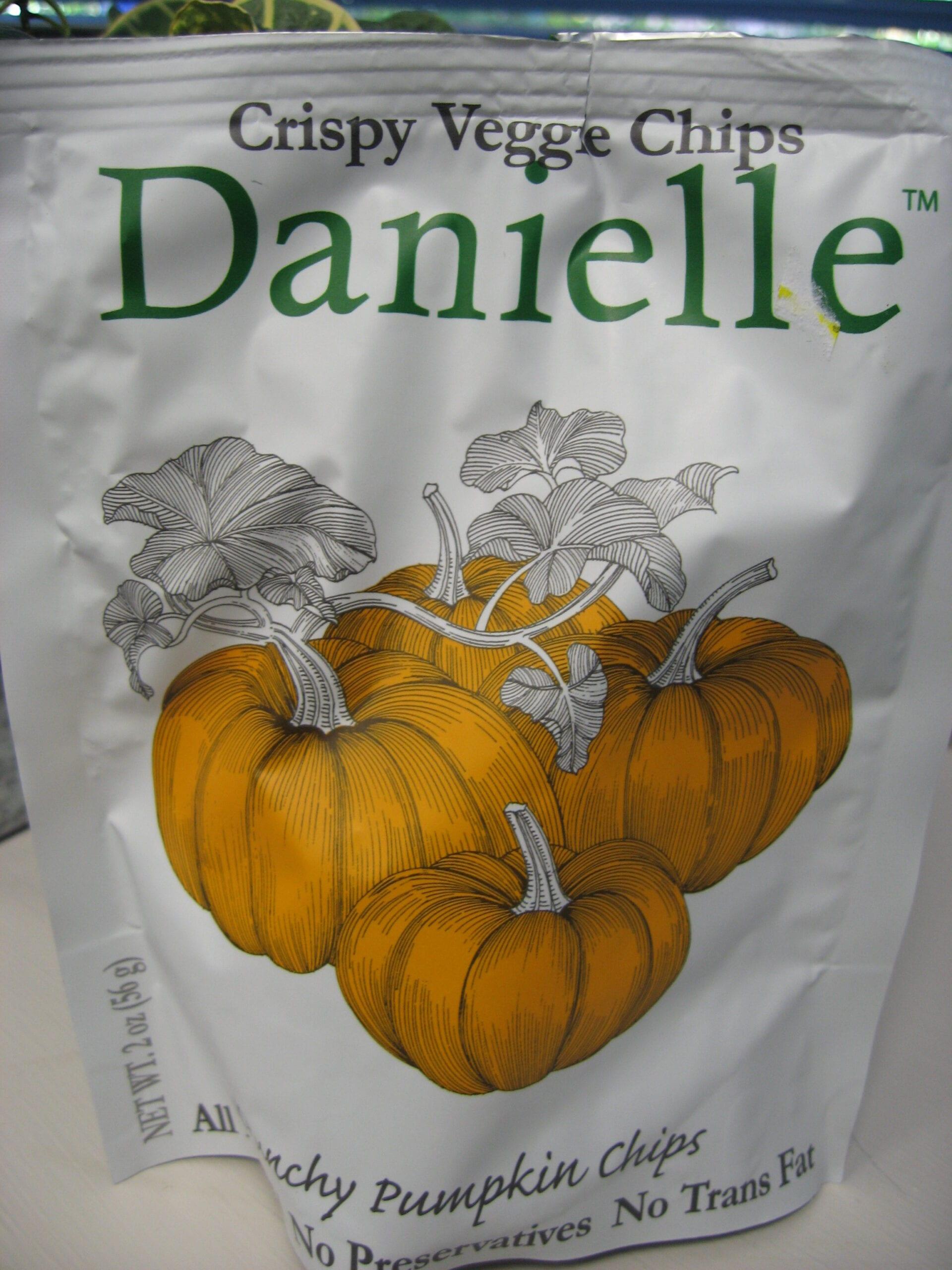 Pumpkin Chips & Pumpkin Dip