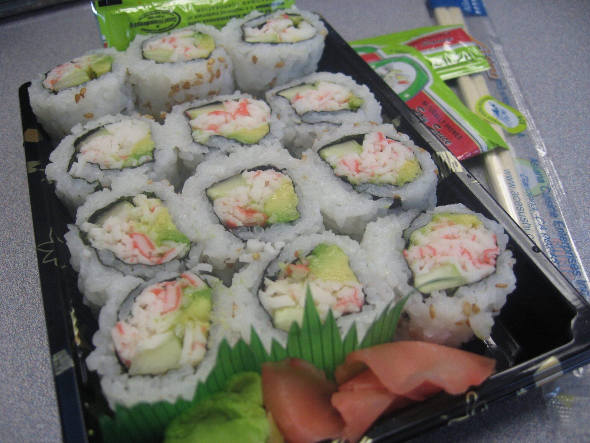 Sushi It Is!!!