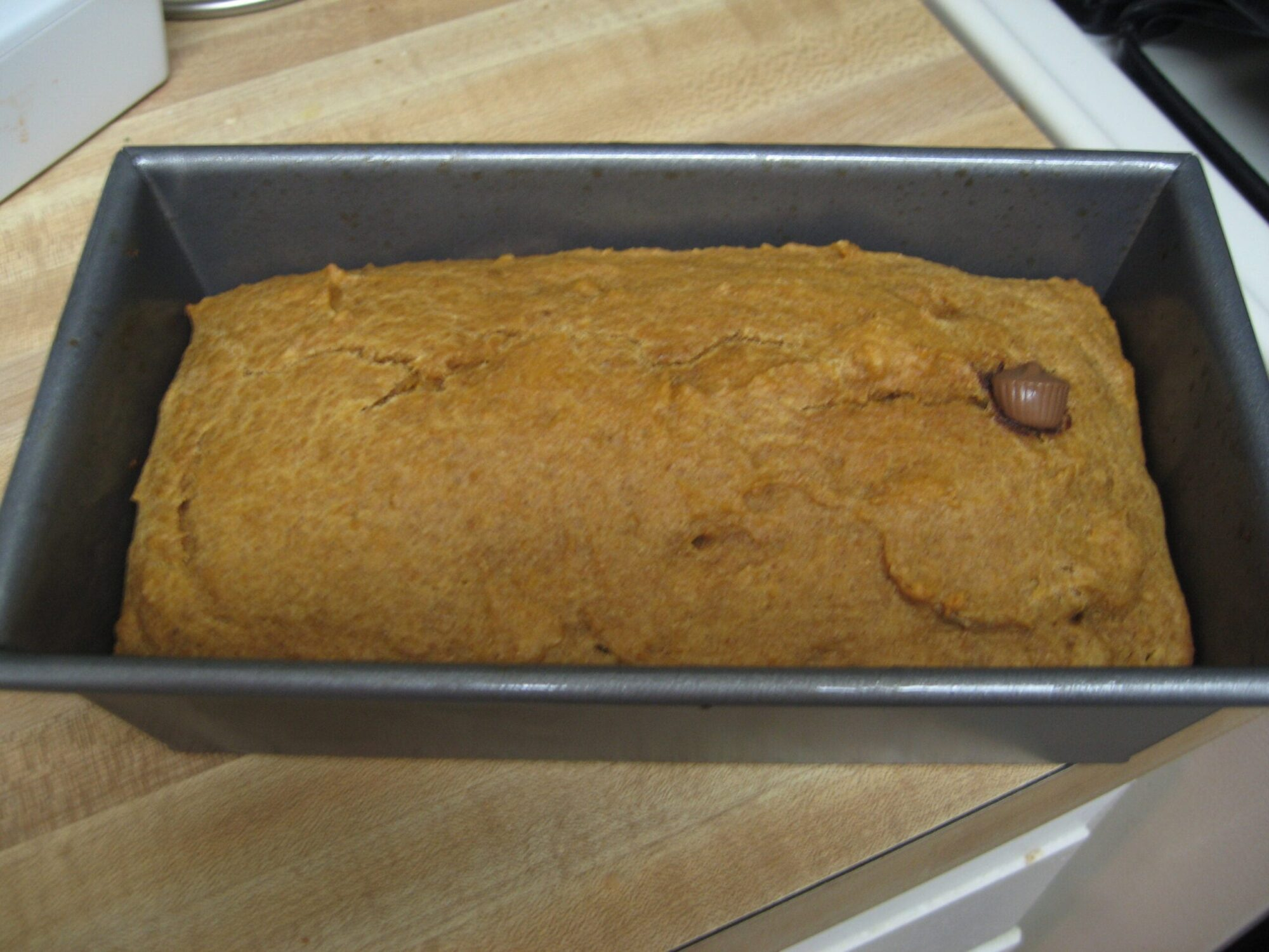 Peanut Butter Pumpkin Bread Recipe