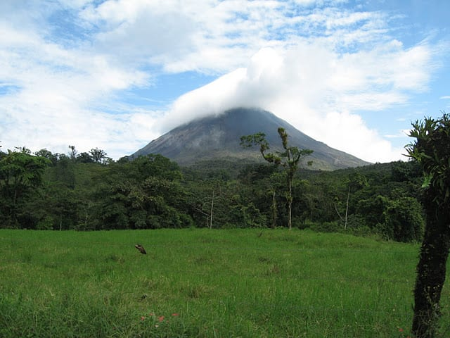 arenal volcano Thanksgiving in Costa Rica