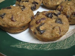 cranberry chocolate chip muffins Dessert