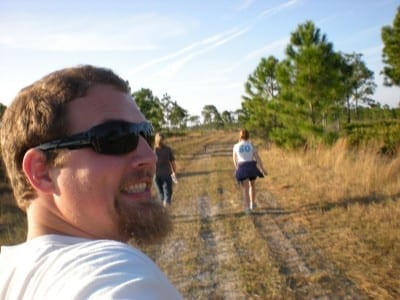 ben hiking in FL