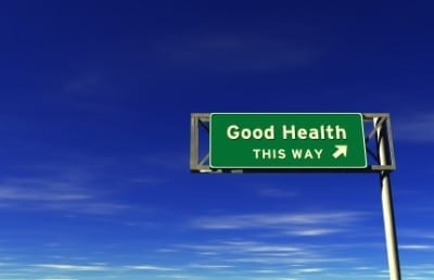good health sign 400x258 2010   My Healthiest Year Yet!