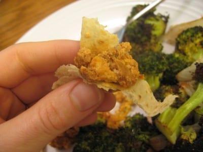IMG 4736 400x300 Soy Chorizo for dinner