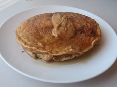 IMG 4841 400x300 Pancakes and Almond Butter