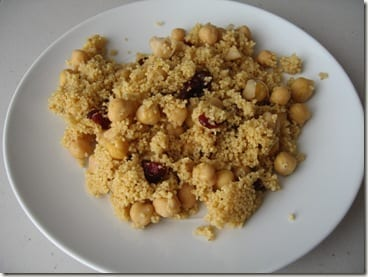 Orange Cran Couscous