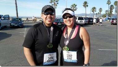 Terence and Kyna @ the Inaugural LA 13.1