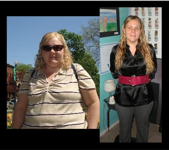 Weight loss Wednesday – Amanda