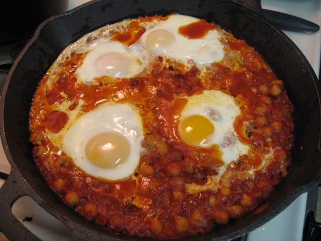 Chickpeas and Eggs