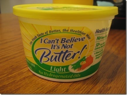 I cant believe it's not butter