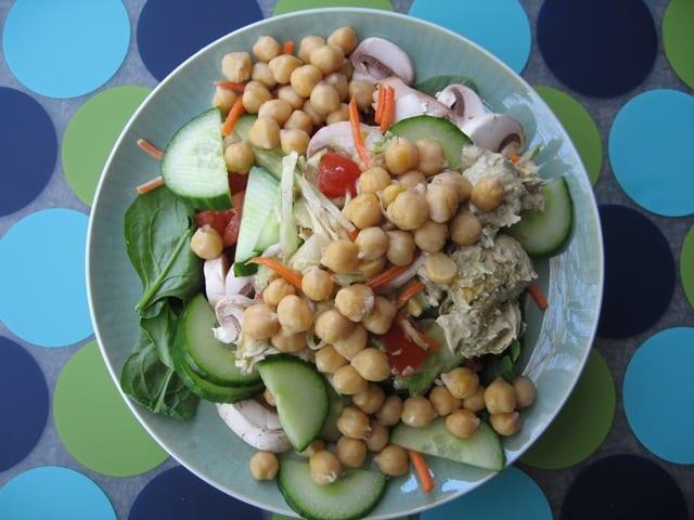 Flashback Friday and Big Salads