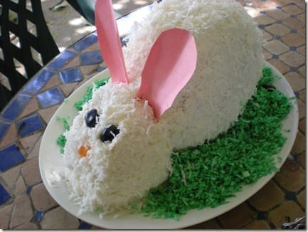 bunnycake thumb Easter Plan
