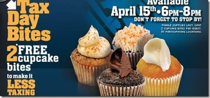 cinnabon thumb Tax Day Freebies!!!