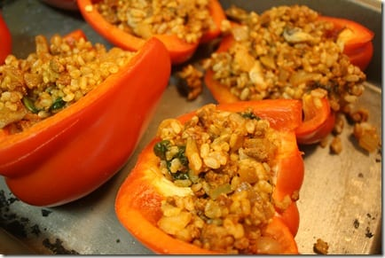 IMG 7705 thumb Mexican Meatless Monday: Stuffed Peppers