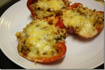 IMG 7719 thumb Mexican Meatless Monday: Stuffed Peppers