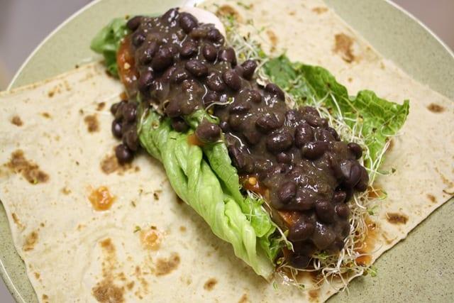 Taco Salad Wrap