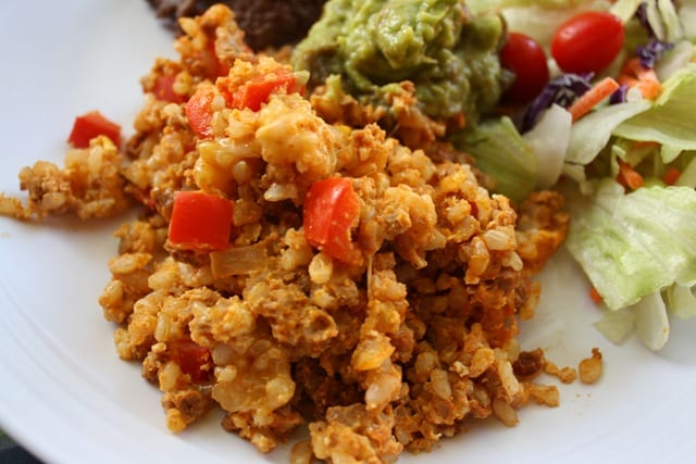 Mexican Meatless Monday – Chorizo Fried Rice