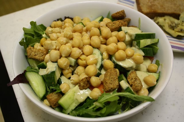 Chickpeas are back