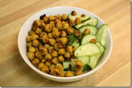 IMG 9173 thumb Hummustard Roasted Chickpeas