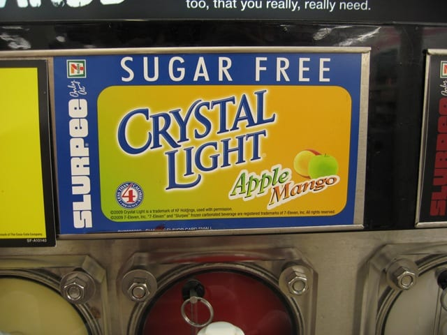 Crystal Light Slurpees
