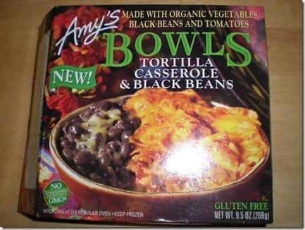 Amy's Tortilla Casserole