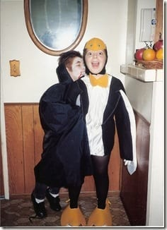 VAMPIRE AND PENGUIN