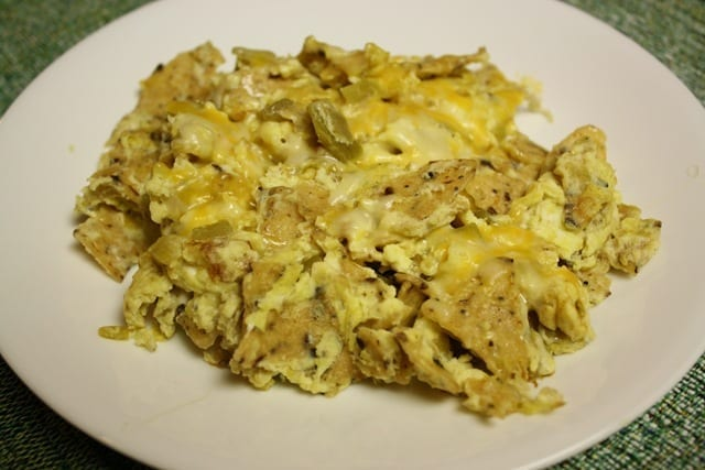 Mexican Meatless Monday - Chilaquiles
