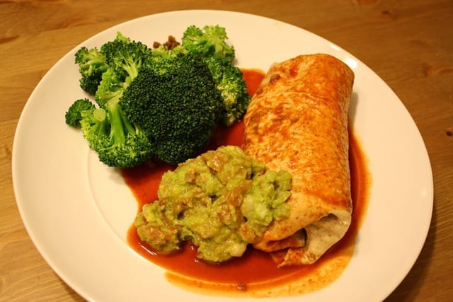 Mexican Meatless Monday – Wet Burrito