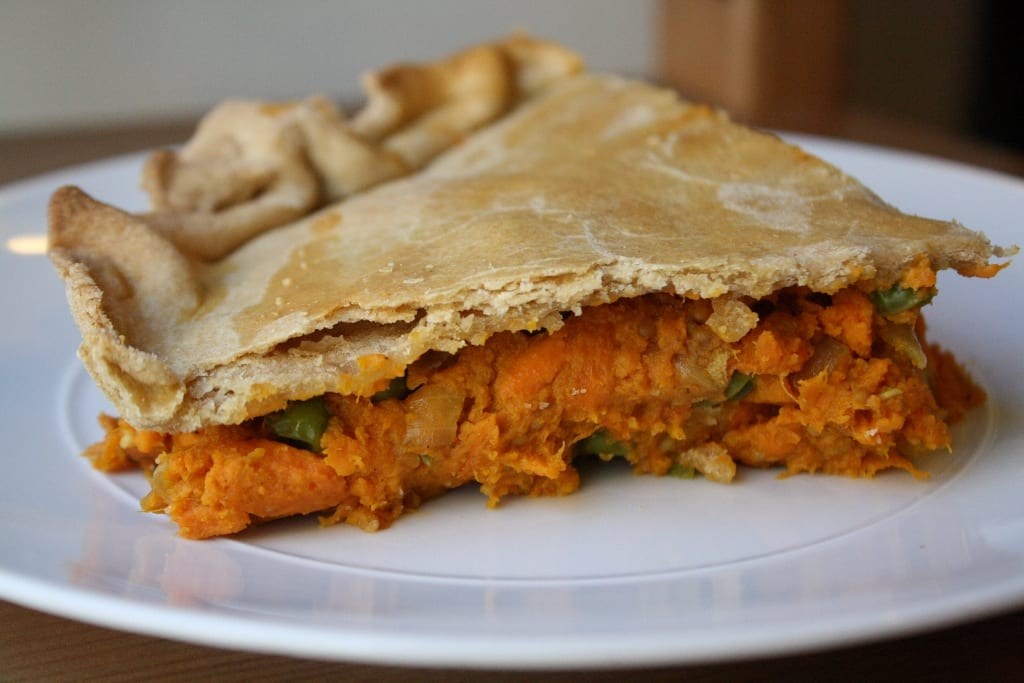 Meatless Monday Recipe: Sweet Potato Samosa Casserole