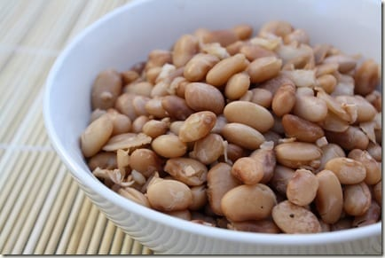 easy vegetarian recipe for cooking pinto beans