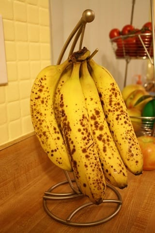 Banana Peanut Flour Muffins