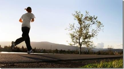 thinking on a run