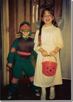 ANGEL AND NINJA TURTLE