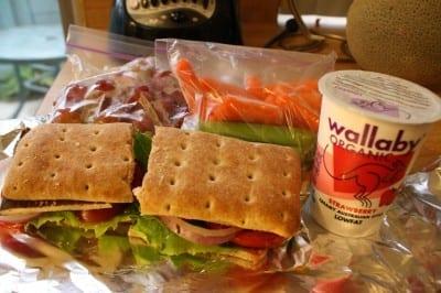 IMG 2003 400x266 Baked Tofu Sandwich