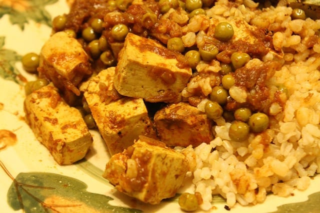 Meatless Monday – Curry Tofu