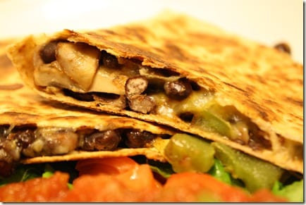 Mexican Meatless Monday – Black Bean Quesadillas