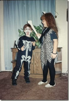 SKELETONANDCAVEMAN thumb Flashback Friday   Halloween