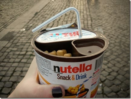 nutella snack