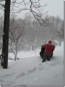 Ben  in MD snow
