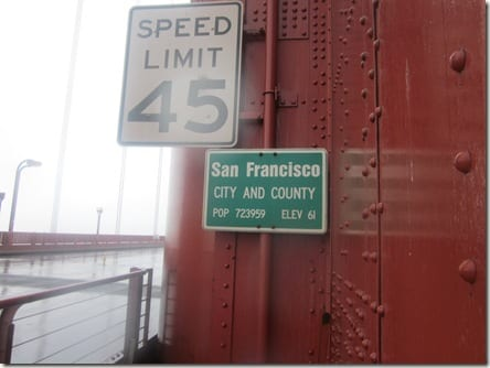 San Francisco city limit