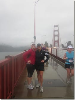 post Golden Gate bridge run
