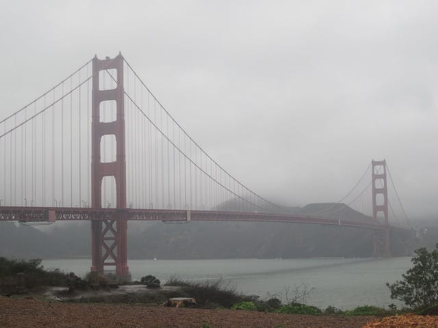 Golden Gate Bridge Run