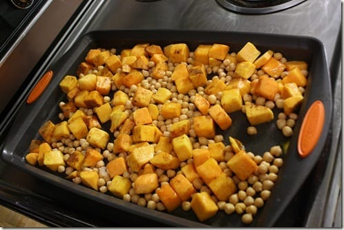 IMG 3811 thumb Roasted Butternut Squash and Chickpeas