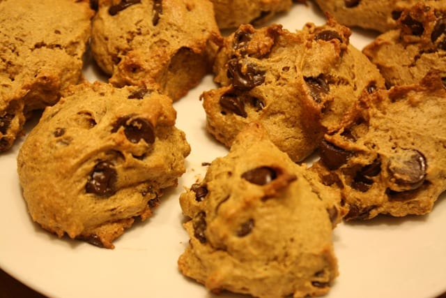 PB Chocolate Chip Cookies for One (or Two)