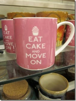 Eat Cake and Move On