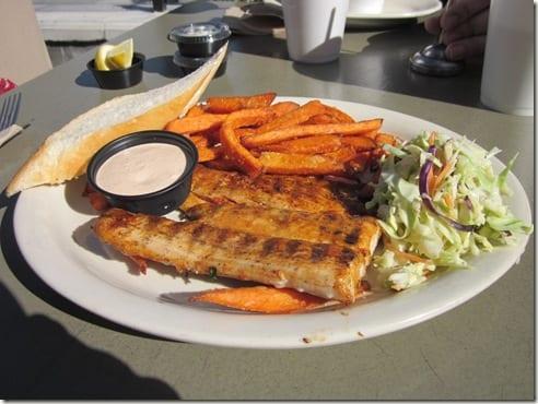 Bone Fish Grill mahi mahi