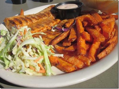 Bone Fish Grill sweet potato fries
